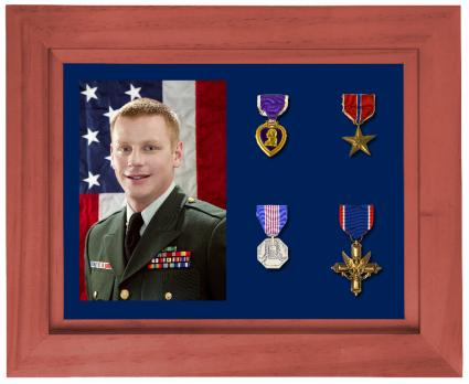 Medal Shadow Box  sc 1 st  Crafts - LoveToKnow & Military Shadow Box Ideas | LoveToKnow Aboutintivar.Com