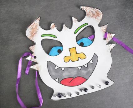 Halloween monster mask