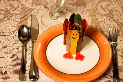 Turkey Thanksgiving napkin rings