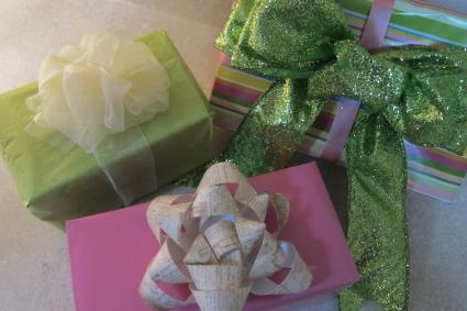 bows for gifts