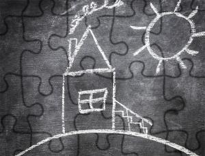 chalkboard puzzle