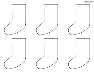 Felt Craft Patterns 2 stocking