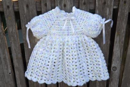 Beginner Baby Dress Crochet Pattern - Baby Center