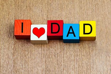 I love dad magnet
