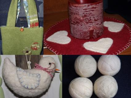 felted wool projects