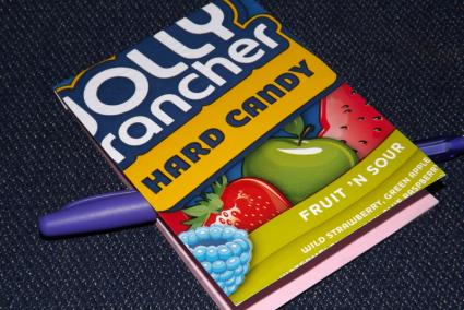 Candy Wrapper Notepad Cover