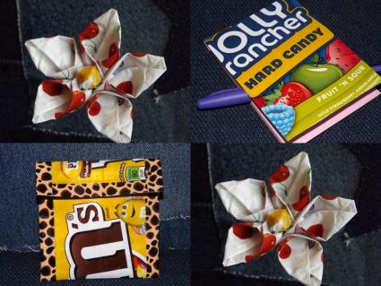 Candy Wrapper Craft Projects