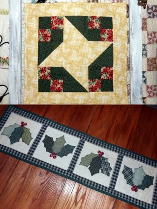 Christmas Quilting Patterns Free : Free Christmas Quilt Patterns