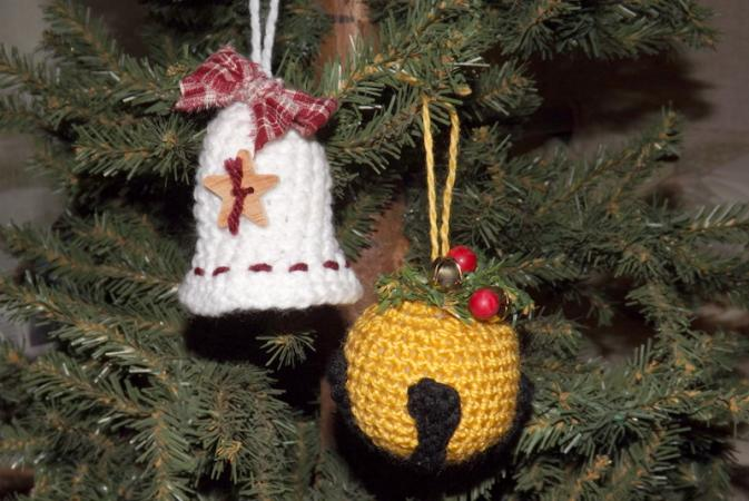 Crochet Christmas Bell Patterns