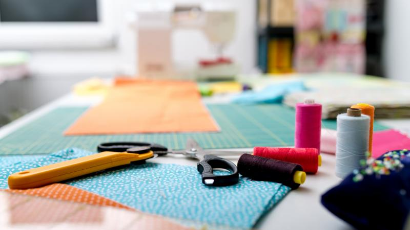 Sewing materials for quilting