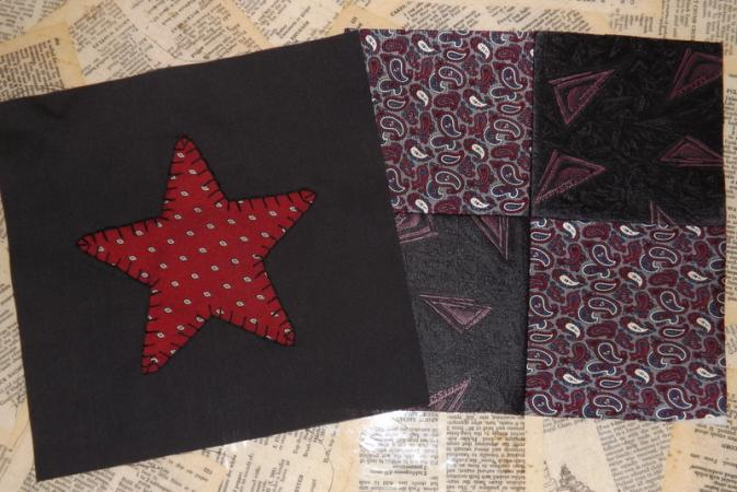 4-patch and star blocks