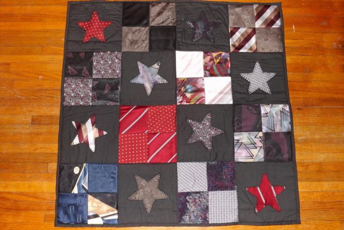 Necktie Wall Quilt