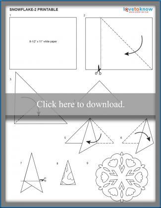 snowflake 2 pattern