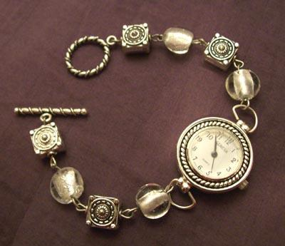 Wire and Bead Watch