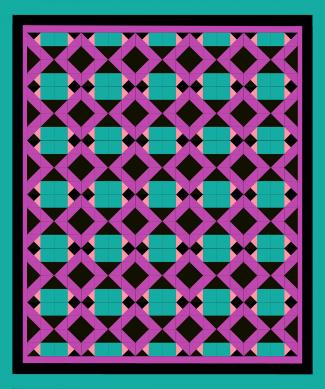 bright quilt