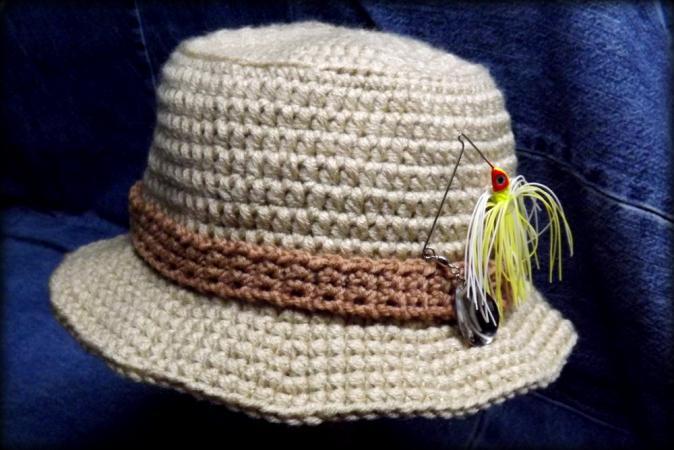 Crochet Mens Hat
