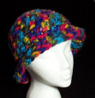 thick and quick crochet hat