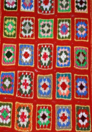 Crochet Special Stitches Mile-A-Minute Afghans, Pattern -