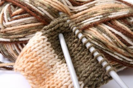 Knit with wool.