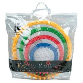 Provo Knifty Knitter Loom w/Hook Round Small Blue Product Detail