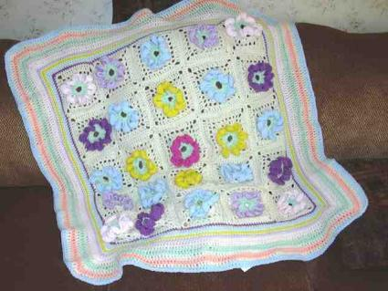 How to Crochet a Baby Blanket - Buzzle Web Portal: Intelligent