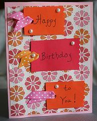 Handmade Birthday Cards Ideas