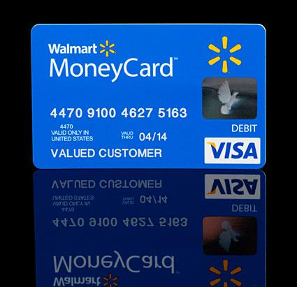 does walmart sell prepaid credit cards
