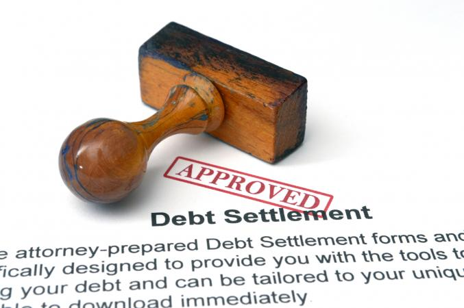 debt settlement approval