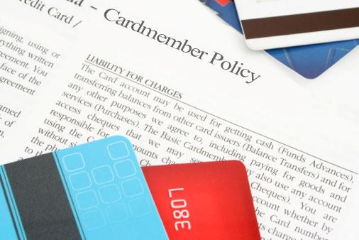 credit card policy