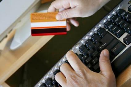 Using a credit card online