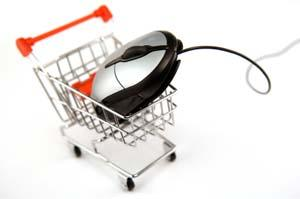 Mouse in Shopping Cart