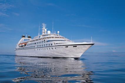 Seabourn Spirit at Sea