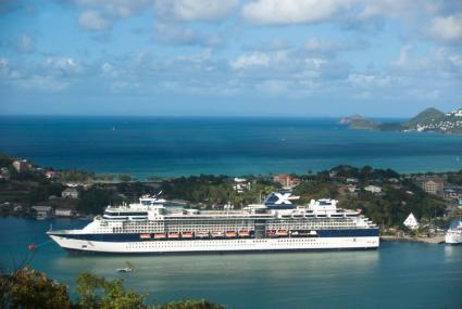 Celebrity Ship at St. Lucia