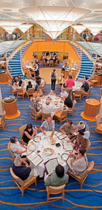 Carnival Breeze Dining