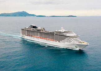 MSC Fantasia Cruise Ship