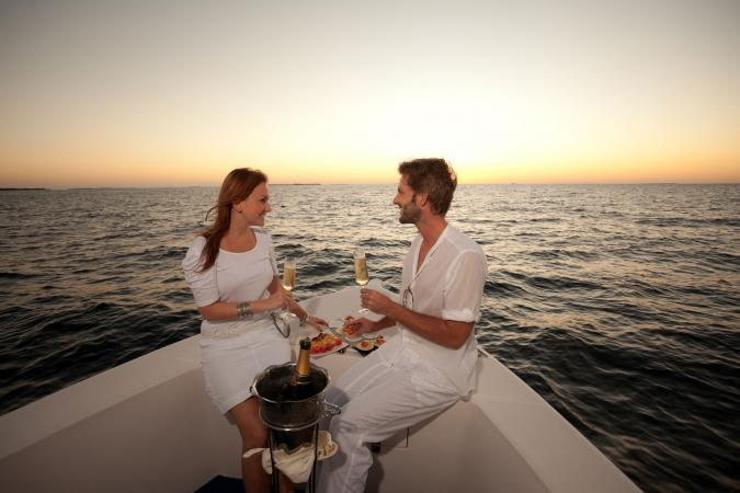 Romantic dinner cruise