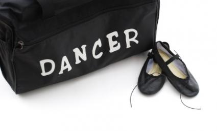 Dance bag and shoes
