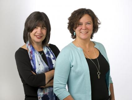 Editors Johanna Lesoho and Sandra McMaster