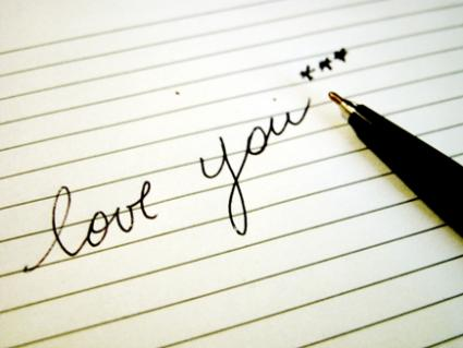 love you note