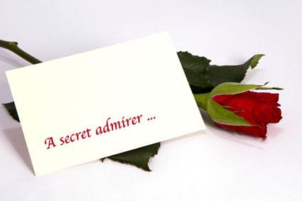 sample secret admirer notes relationship