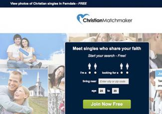 Screenshot of Christianmatchmaker.com