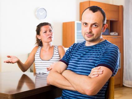 Quarrel between spouses