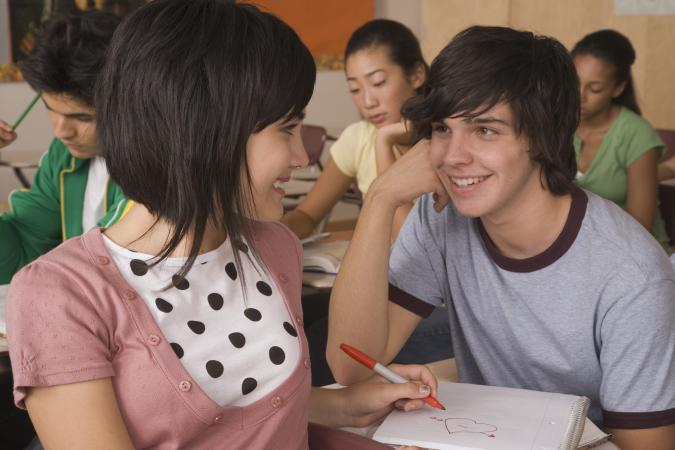flirty teens