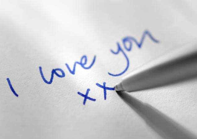 Penned love note