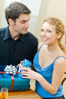 Exchanging gifts