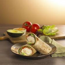 Boar's Head Turkey and Avocado Wrap With Hummus