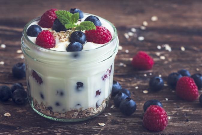 jazzed up yogurt