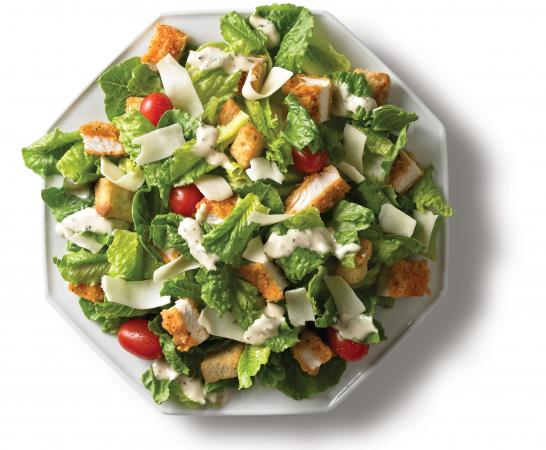 Wendy's Spicy Caesar Salad