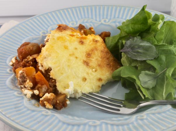 Beef Cottage Cheese Casserole