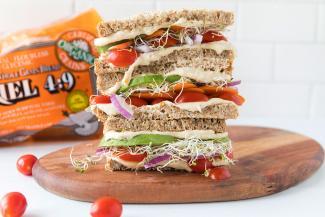 Ezekiel Sprouted 100% Whole Grain Bread Sandwich